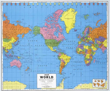 Maps and Globes - Political